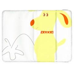 Mutt Dog Animal Domestic Vector Samsung Galaxy Tab 7  P1000 Flip Case