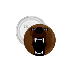 Bear Brown Set Paw Isolated Icon 1 75  Buttons