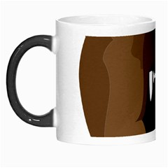 Bear Brown Set Paw Isolated Icon Morph Mugs