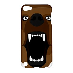 Bear Brown Set Paw Isolated Icon Apple Ipod Touch 5 Hardshell Case