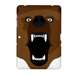 Bear Brown Set Paw Isolated Icon Samsung Galaxy Tab 2 (10 1 ) P5100 Hardshell Case