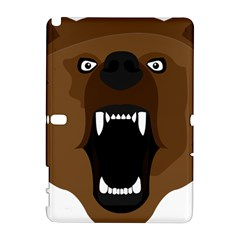 Bear Brown Set Paw Isolated Icon Galaxy Note 1