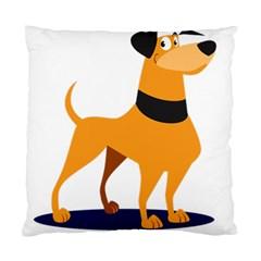 Stub Illustration Cute Animal Dog Standard Cushion Case (two Sides)