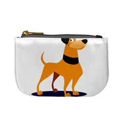 Stub Illustration Cute Animal Dog Mini Coin Purses
