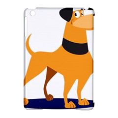 Stub Illustration Cute Animal Dog Apple Ipad Mini Hardshell Case (compatible With Smart Cover)