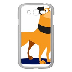 Stub Illustration Cute Animal Dog Samsung Galaxy Grand Duos I9082 Case (white)