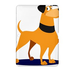 Stub Illustration Cute Animal Dog Samsung Galaxy Tab 2 (10 1 ) P5100 Hardshell Case