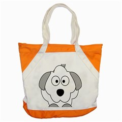 Animal Cartoon Colour Dog Accent Tote Bag by Nexatart