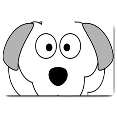 Animal Cartoon Colour Dog Large Doormat