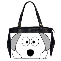 Animal Cartoon Colour Dog Office Handbags (2 Sides)  by Nexatart
