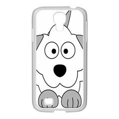 Animal Cartoon Colour Dog Samsung Galaxy S4 I9500/ I9505 Case (white)