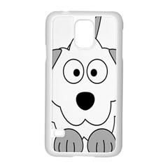 Animal Cartoon Colour Dog Samsung Galaxy S5 Case (white)