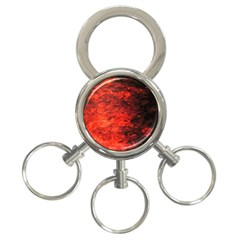 Reflections At Night 3 Ring Key Chains by CrypticFragmentsColors