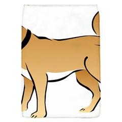 Dog Brown Pet Animal Tail Eskimo Flap Covers (l)
