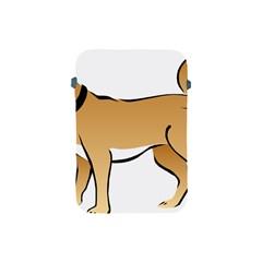 Dog Brown Pet Animal Tail Eskimo Apple Ipad Mini Protective Soft Cases