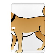 Dog Brown Pet Animal Tail Eskimo Samsung Galaxy Tab Pro 12 2 Hardshell Case