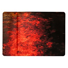 Reflections At Night Samsung Galaxy Tab 10 1  P7500 Flip Case by CrypticFragmentsColors