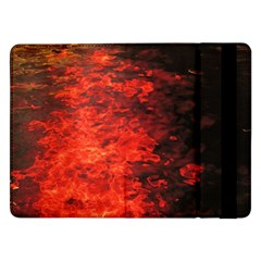 Reflections At Night Samsung Galaxy Tab Pro 12 2  Flip Case by CrypticFragmentsColors