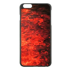 Reflections At Night Apple Iphone 6 Plus/6s Plus Black Enamel Case by CrypticFragmentsColors