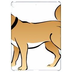 Dog Brown Pet Animal Tail Eskimo Apple Ipad Pro 12 9   Hardshell Case