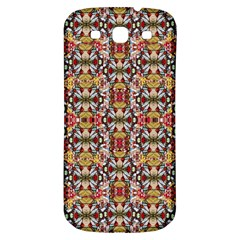 Rose Buds And Floral Decorative Samsung Galaxy S3 S Iii Classic Hardshell Back Case by pepitasart