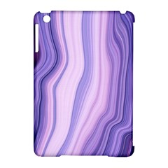 Marbled Ultra Violet Apple Ipad Mini Hardshell Case (compatible With Smart Cover) by 8fugoso