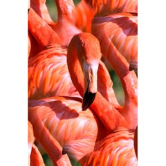 Pink Flamingo Flock Pattern 5 5  X 8 5  Notebooks