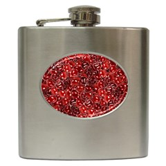 Sweet Cherries Hip Flask (6 Oz) by eyeconart