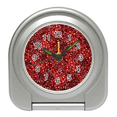 Sweet Cherries Travel Alarm Clocks by eyeconart