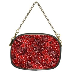 Sweet Cherries Chain Purses (two Sides)  by eyeconart