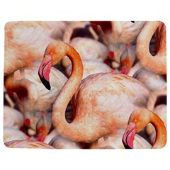 Pink Flamingos Flock Jigsaw Puzzle Photo Stand (rectangular) by CrypticFragmentsColors