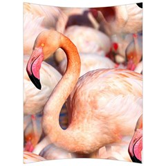 Pink Flamingos Flock Back Support Cushion