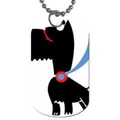 Dog Scottish Terrier Scottie Dog Tag (two Sides)