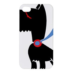 Dog Scottish Terrier Scottie Apple Iphone 4/4s Premium Hardshell Case