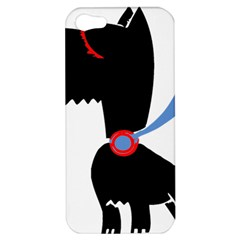 Dog Scottish Terrier Scottie Apple Iphone 5 Hardshell Case by Nexatart