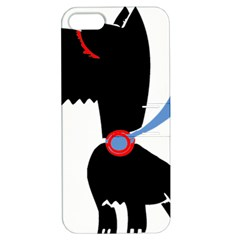 Dog Scottish Terrier Scottie Apple Iphone 5 Hardshell Case With Stand