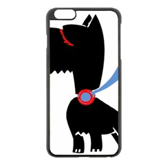 Dog Scottish Terrier Scottie Apple Iphone 6 Plus/6s Plus Black Enamel Case