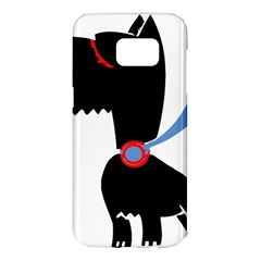 Dog Scottish Terrier Scottie Samsung Galaxy S7 Edge Hardshell Case