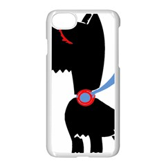 Dog Scottish Terrier Scottie Apple Iphone 7 Seamless Case (white)
