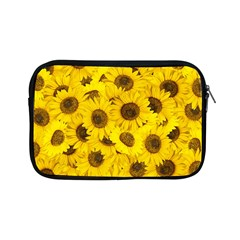 Sunflower Apple Ipad Mini Zipper Cases by eyeconart
