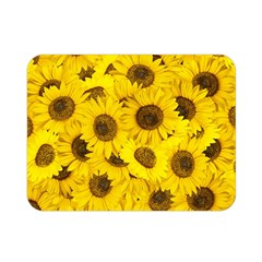 Sunflower Double Sided Flano Blanket (mini)  by eyeconart