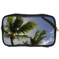 Palm Trees Tropical Beach Scenes Coastal   Toiletries Bags 2 Side