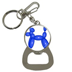 Poodle Dog Balloon Animal Clown Bottle Opener Key Chains