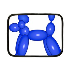 Poodle Dog Balloon Animal Clown Netbook Case (small)