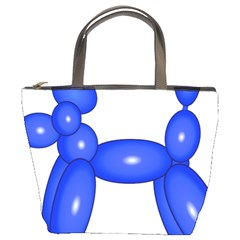 Poodle Dog Balloon Animal Clown Bucket Bags