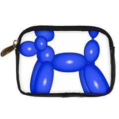 Poodle Dog Balloon Animal Clown Digital Camera Cases