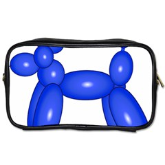 Poodle Dog Balloon Animal Clown Toiletries Bags 2 Side