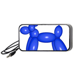 Poodle Dog Balloon Animal Clown Portable Speaker