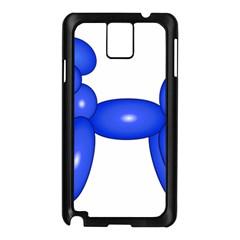 Poodle Dog Balloon Animal Clown Samsung Galaxy Note 3 N9005 Case (black)