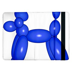 Poodle Dog Balloon Animal Clown Samsung Galaxy Tab Pro 12 2  Flip Case